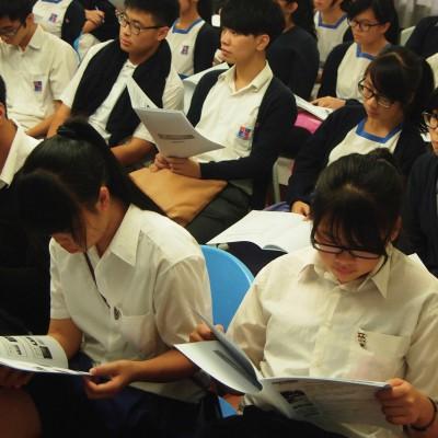 每名參加導賞學員均獲發導賞資料冊及工作紙一份