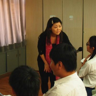 學員表現專注,積極參與導賞活動